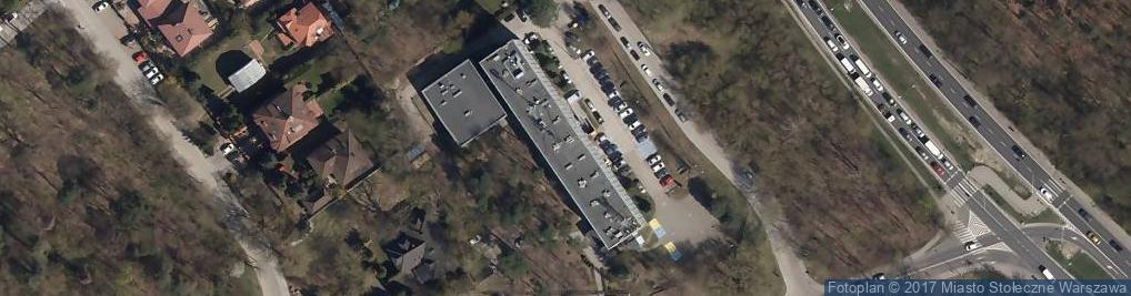 Zdjęcie satelitarne Trylogii ul.