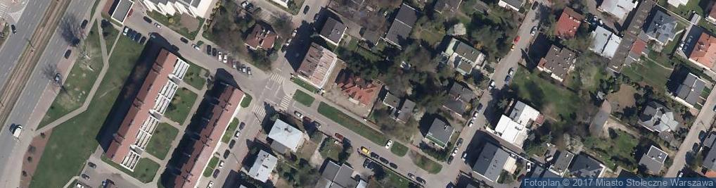Zdjęcie satelitarne Trapez ul.