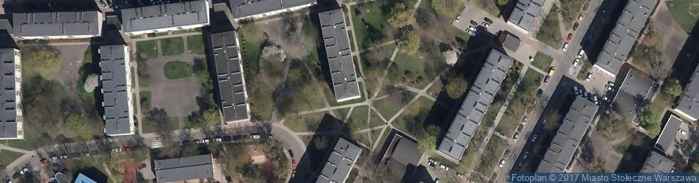Zdjęcie satelitarne Trzech Budrysów ul.