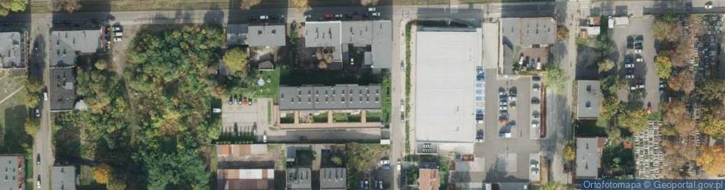 Zdjęcie satelitarne Trocera Dionizego ul.