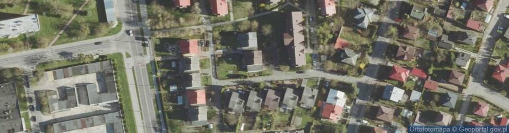 Zdjęcie satelitarne Tuzinek ul.