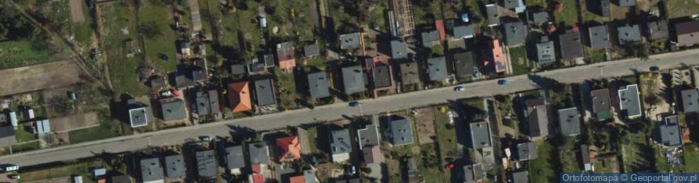 Zdjęcie satelitarne Tulipanowa ul.