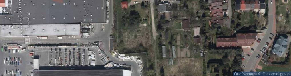 Zdjęcie satelitarne Tulipanów ul.