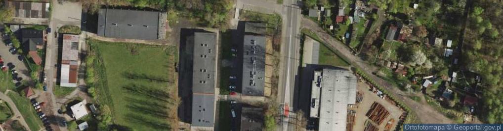 Zdjęcie satelitarne Tunkla Ludwika, ks. ul.