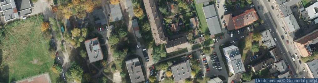 Zdjęcie satelitarne Tuwima Juliana ul.