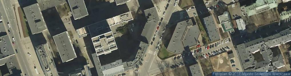 Zdjęcie satelitarne Twarda ul.