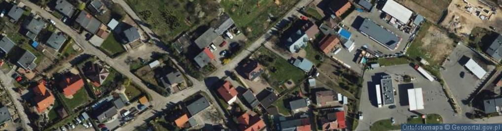 Zdjęcie satelitarne Tylna ul.