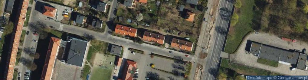 Zdjęcie satelitarne Tytoniowa ul.