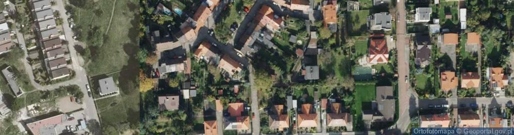 Zdjęcie satelitarne Uchodźców ul.