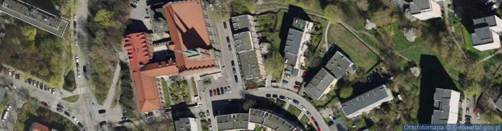 Zdjęcie satelitarne Ujejskiego Kornela ul.