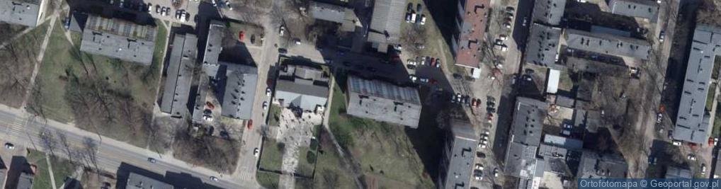 Zdjęcie satelitarne Urzędnicza ul.