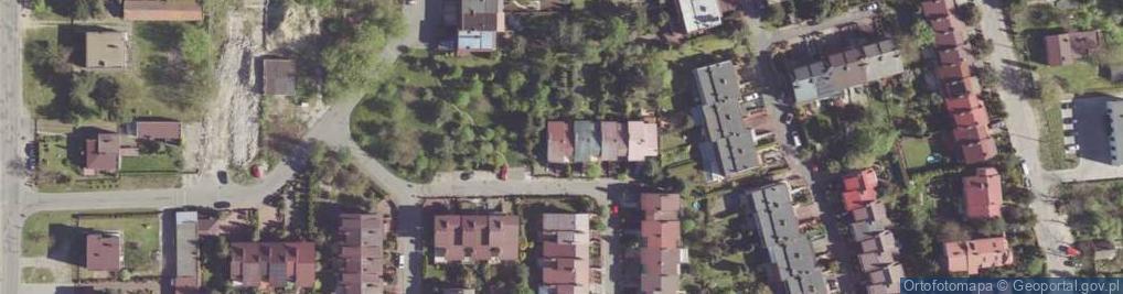 Zdjęcie satelitarne Urodzajna ul.