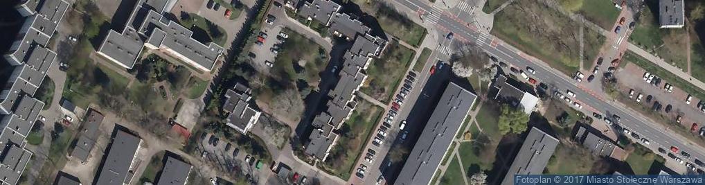 Zdjęcie satelitarne Urbanistów ul.