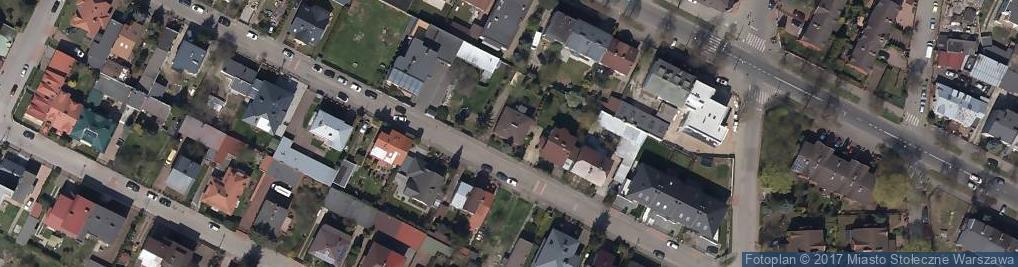 Zdjęcie satelitarne Uranowa ul.