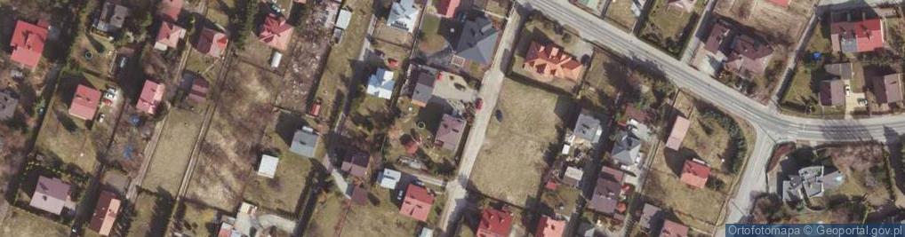 Zdjęcie satelitarne Ustrzycka ul.