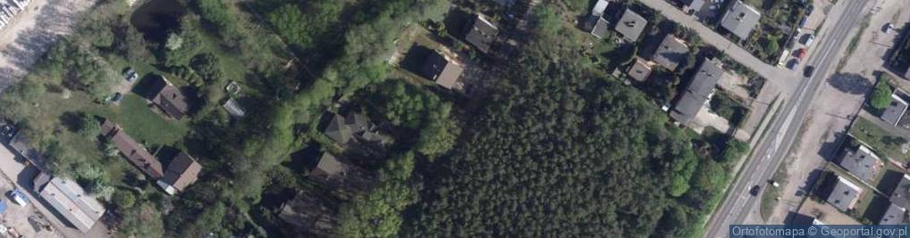Zdjęcie satelitarne Uśmiechu ul.