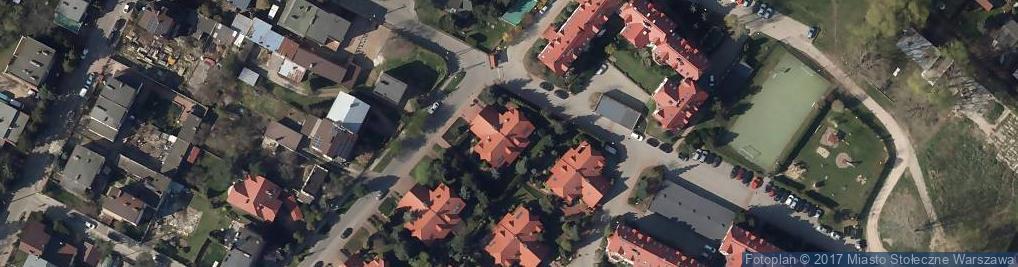 Zdjęcie satelitarne Uznamska ul.
