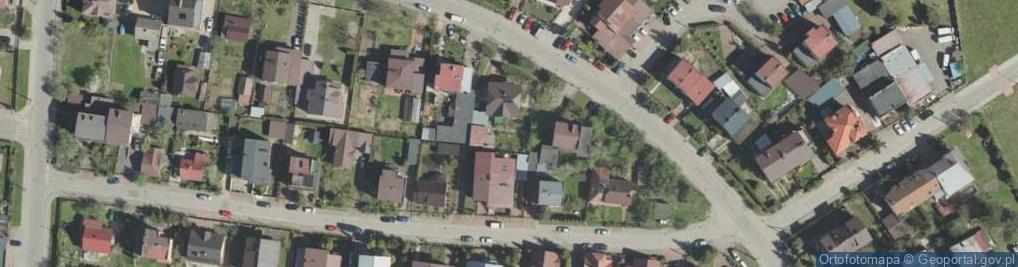 Zdjęcie satelitarne Wańkowicza Melchiora ul.