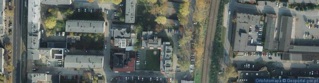 Zdjęcie satelitarne Wały Józefa Dwernickiego, gen. ul.