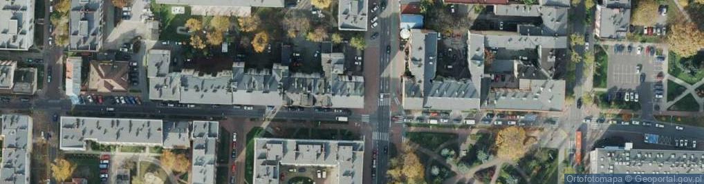 Zdjęcie satelitarne Waszyngtona ul.