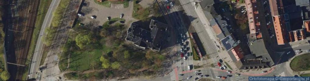 Zdjęcie satelitarne Wały Jagiellońskie ul.