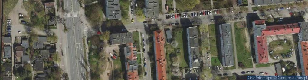 Zdjęcie satelitarne Wachowiaka, woj. ul.