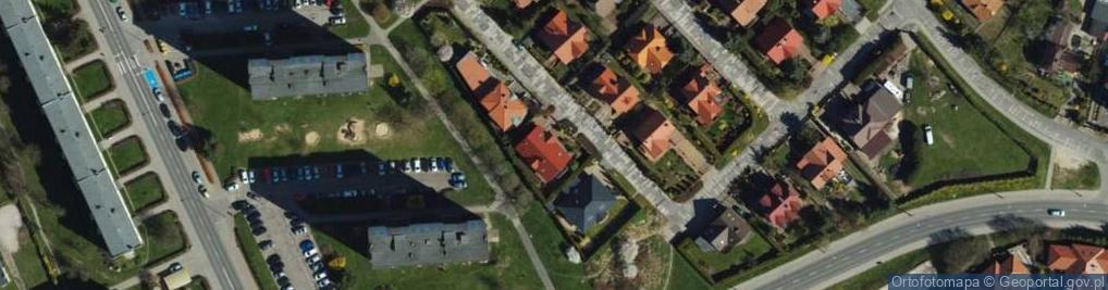 Zdjęcie satelitarne Wągla Władysława ul.