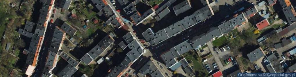Zdjęcie satelitarne Wąska ul.