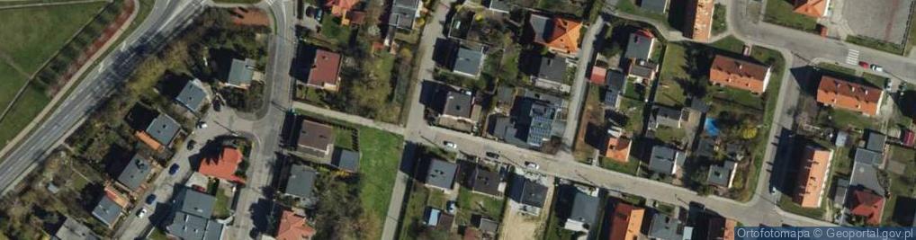 Zdjęcie satelitarne Wawrzyniaka ul.