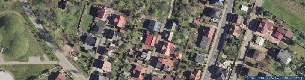 Zdjęcie satelitarne Wapienna ul.