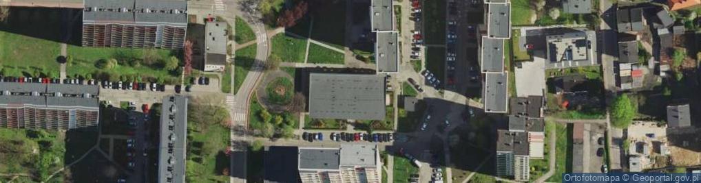 Zdjęcie satelitarne Wajdy Wincentego ul.