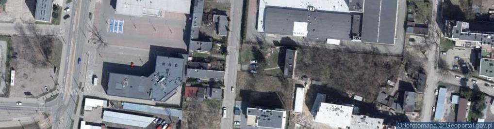 Zdjęcie satelitarne Wawelska ul.