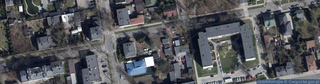Zdjęcie satelitarne Wacława ul.