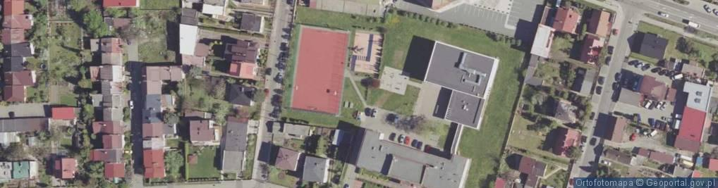 Zdjęcie satelitarne Warneńska ul.