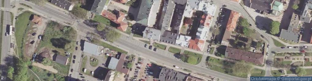 Zdjęcie satelitarne Wałowa ul.