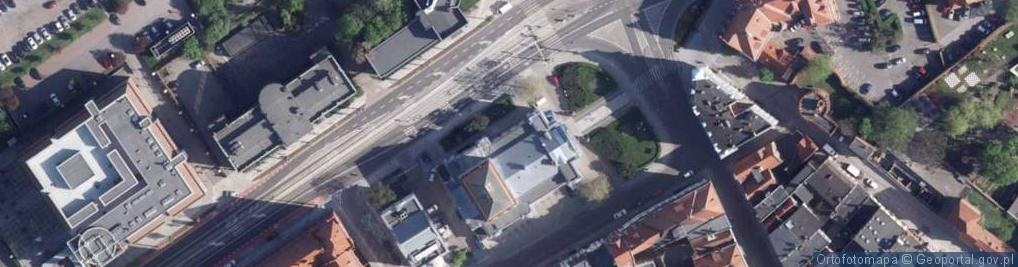 Zdjęcie satelitarne Wały Władysława Sikorskiego, gen. ul.