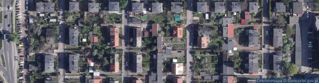 Zdjęcie satelitarne Warmińska ul.