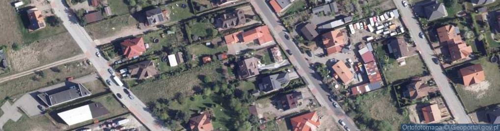 Zdjęcie satelitarne Warzywna ul.