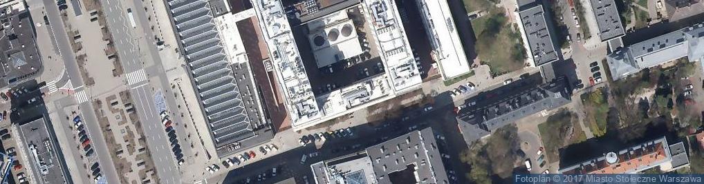 Zdjęcie satelitarne Warecka ul.