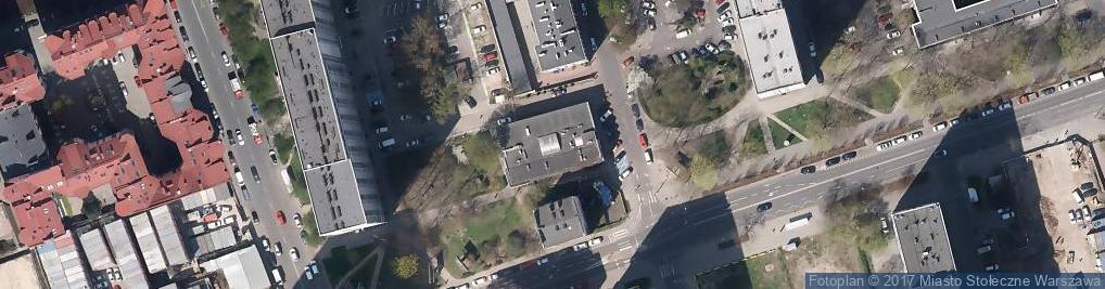 Zdjęcie satelitarne Waliców ul.