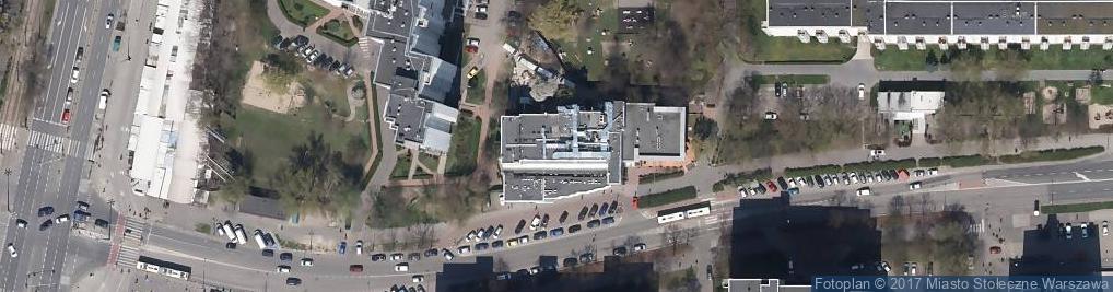 Zdjęcie satelitarne Wałbrzyska ul.