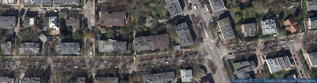 Zdjęcie satelitarne Walecznych ul.