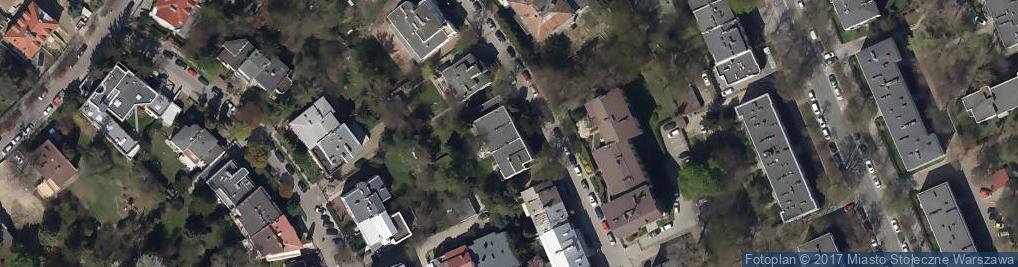 Zdjęcie satelitarne Wąchocka ul.