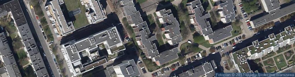 Zdjęcie satelitarne Wandy ul.