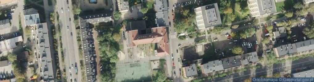 Zdjęcie satelitarne Wajdy Józefa, ks. ul.