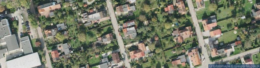 Zdjęcie satelitarne Wallisa Łukasza ul.