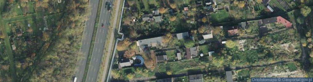 Zdjęcie satelitarne Wełniana ul.