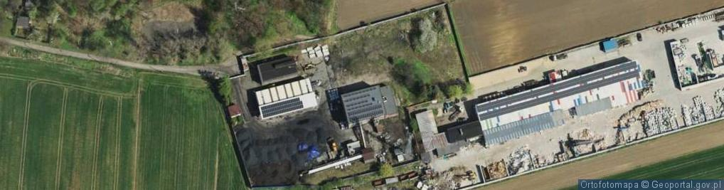 Zdjęcie satelitarne Wentylacyjna ul.