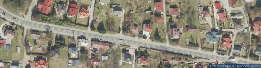 Zdjęcie satelitarne Węgierska ul.