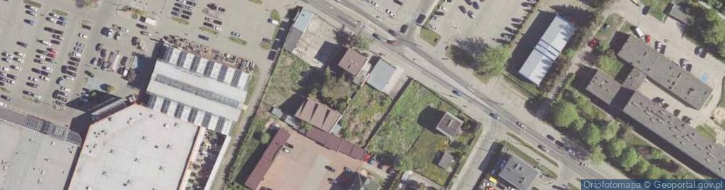 Zdjęcie satelitarne Wernera Stanisława ul.